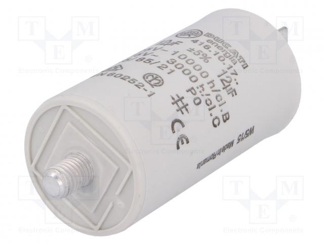DUCATI ENERGIA 416101764 - Kondensator: für Motoren, Betrieb