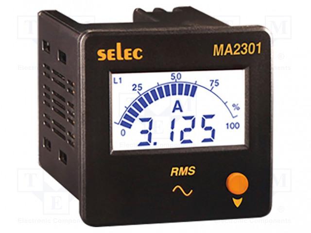 SELEC GMBH MA2301-230V-CE - Amperímetro