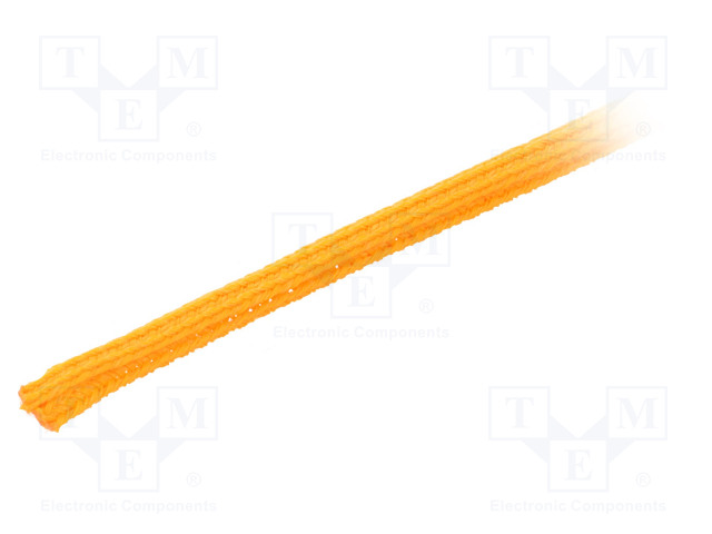 ALPHA WIRE GRP1301/8 ORANGE 50 FT - Polyester conduit