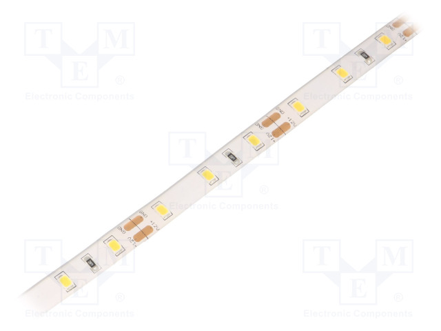WISVA OPTOELECTRONICS HH-S60F008-2835-12 WW WHITE PCB IP65 - Ταινία LED
