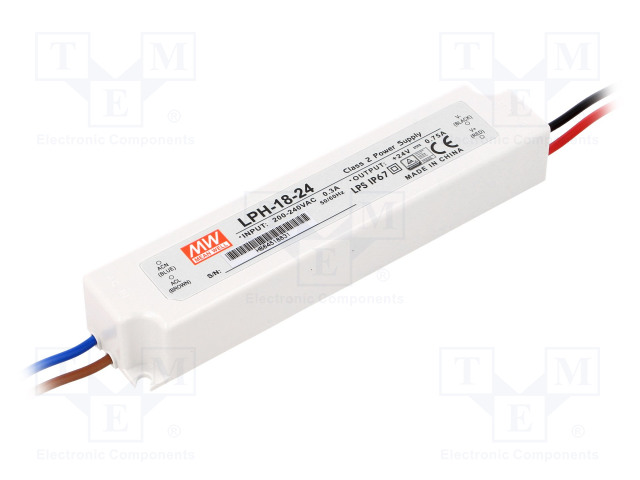 MEAN WELL LPH-18-24 - Power supply: switched-mode