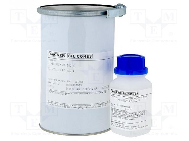 WACKER RT602 A+B 1KG - Zalewa silikonowa