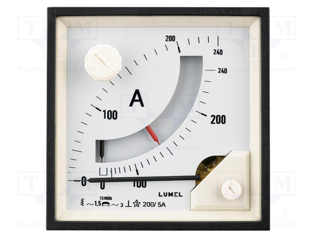 LUMEL BE391NF4112000 - Amperometer