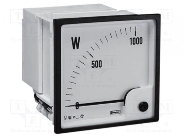 CROMPTON - TE CONNECTIVITY 039-00033-400V L-L, 150/5A-0-100 KW - Medidor de potencia