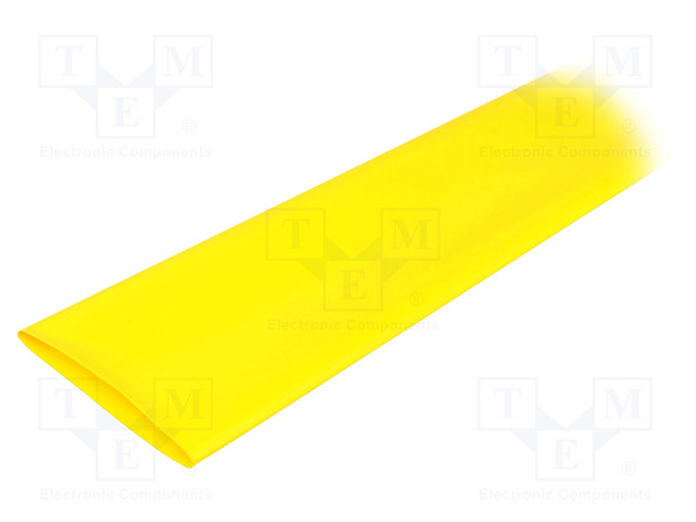 ALPHA WIRE FIT2212IN YELLOW 5X4 FT - Heat shrink sleeve