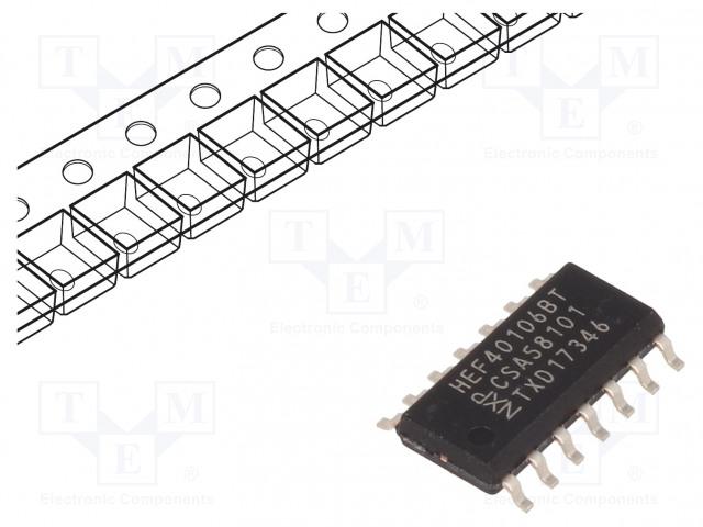 NEXPERIA HEF40106BT.653 - IC: digital