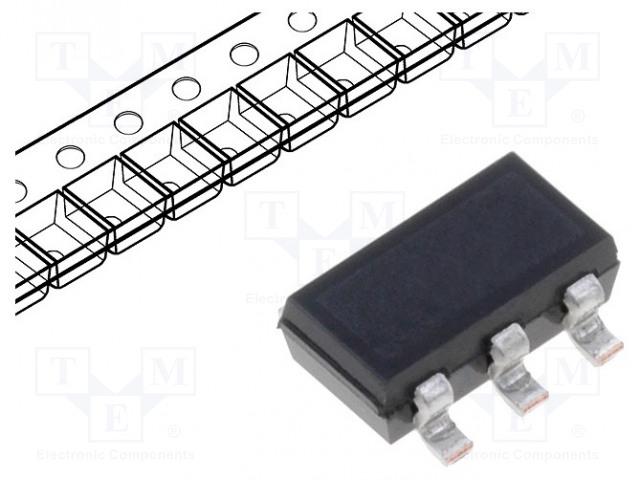 INFINEON TECHNOLOGIES BC817SUE6327 - Transistor: NPN