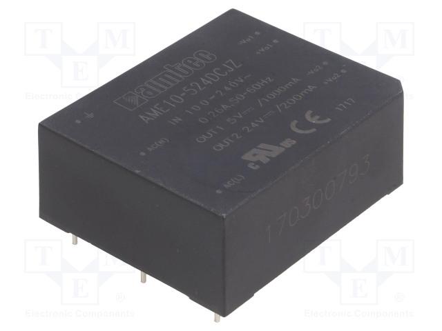 AIMTEC AME10-524DCJZ - Converter: AC/DC