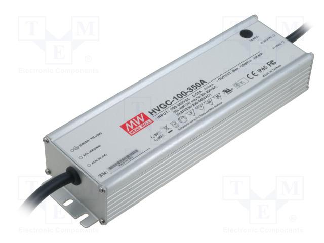MEAN WELL HVGC-100-350A - Alimentatore: a impulsi