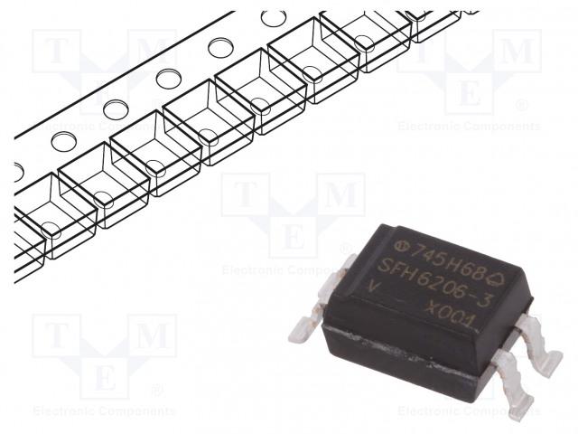 VISHAY SFH6206-3X001T - Optocoupler