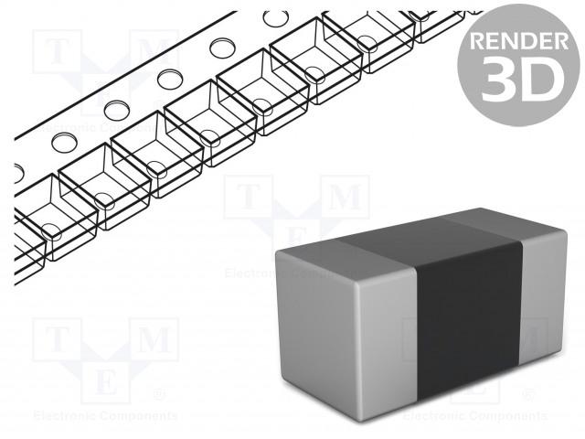 MURATA BLM18PG471SN1D - Ferrite: bead