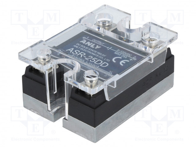 ANLY ELECTRONICS ASR-25DD - Relay: solid state