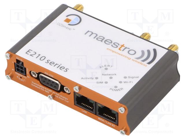 MAESTRO WIRELESS SOLUTIONS E214 - Moduuli: LTE