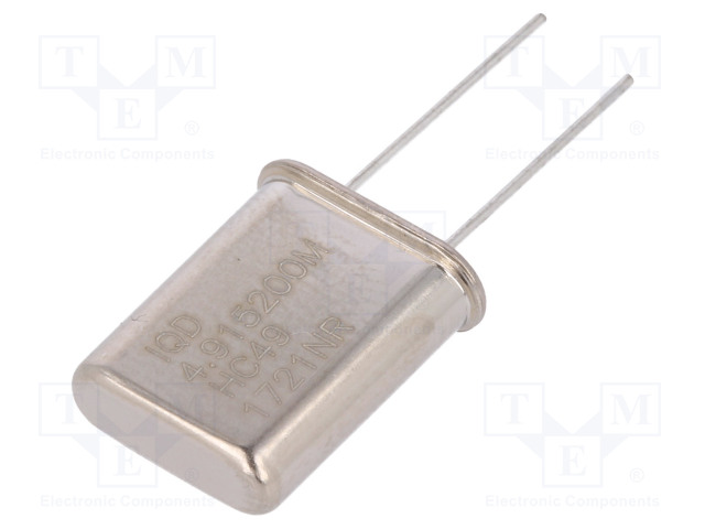IQD FREQUENCY PRODUCTS LFXTAL003110BULK - Resonator: quartz