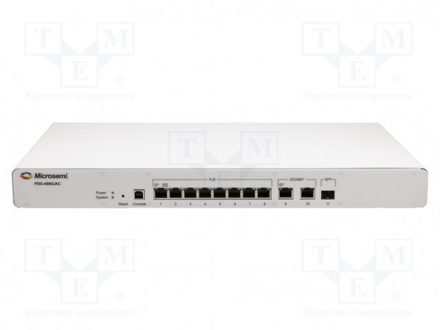 MICROCHIP TECHNOLOGY PDS-408G/AC-EU - Switch PoE Ethernet