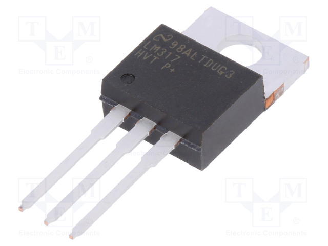 TEXAS INSTRUMENTS LM317HVT/NOPB - IC: voltage regulator