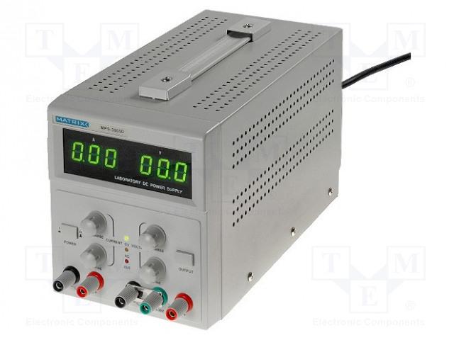 MATRIX MPS-3005D - Napájecí zdroj: laboratorní