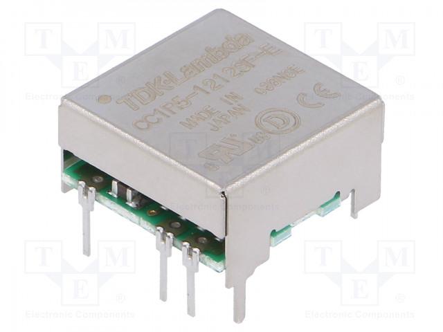 TDK-LAMBDA CC1R5-1212SF-E - Converter: DC/DC