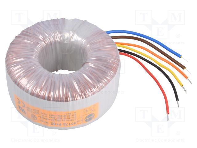 TALEMA 55173-P1S2 - Transformator: Ringkern