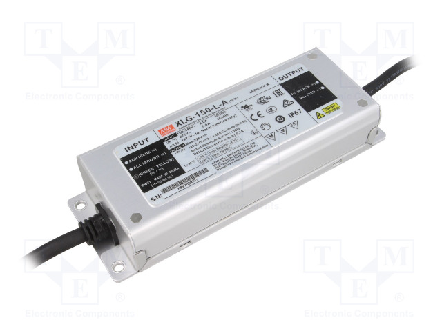 MEAN WELL XLG-150-L-A - Alimentatore: a impulsi