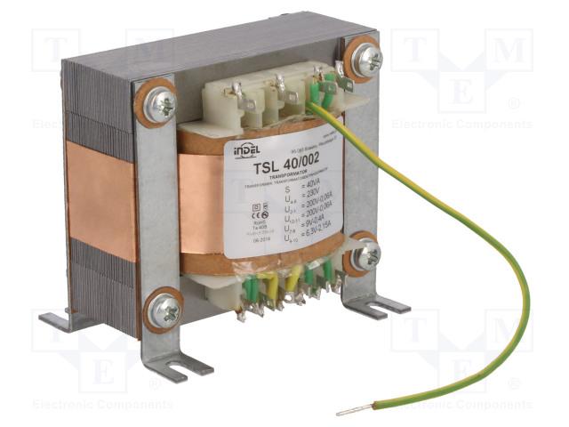 INDEL TSL 40/002 - Transformator: sieciowy