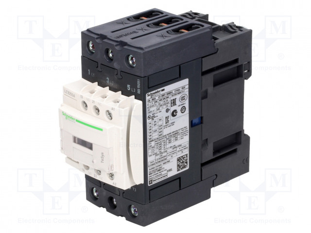 SCHNEIDER ELECTRIC LC1D50ABD - Contactor: 3-pole