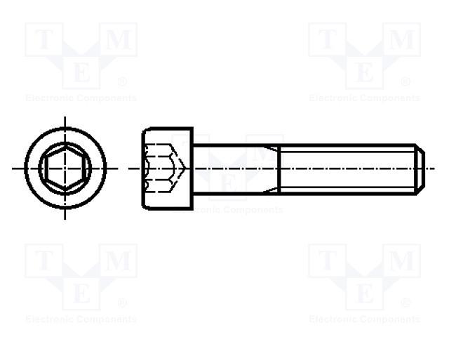 KRAFTBERG M3X10/D912-A2 - Screw