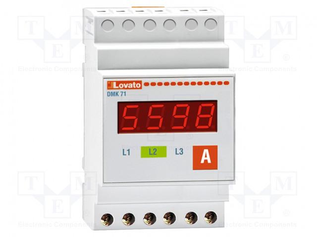 LOVATO ELECTRIC DMK 71 - Ampeerimittari