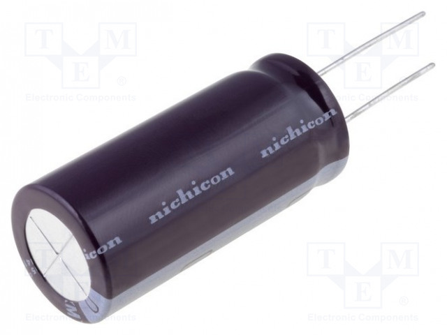 NICHICON UPW1H471MHD - Kondenzátor: elektrolytický