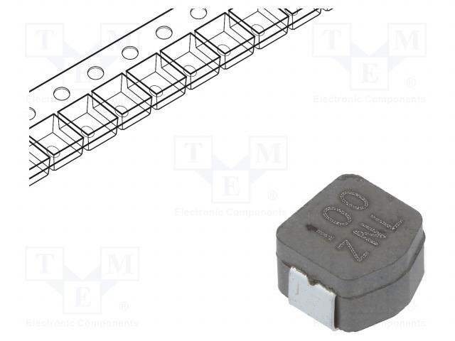 KEMET MPLCV0645L100 - Dławik: drutowy