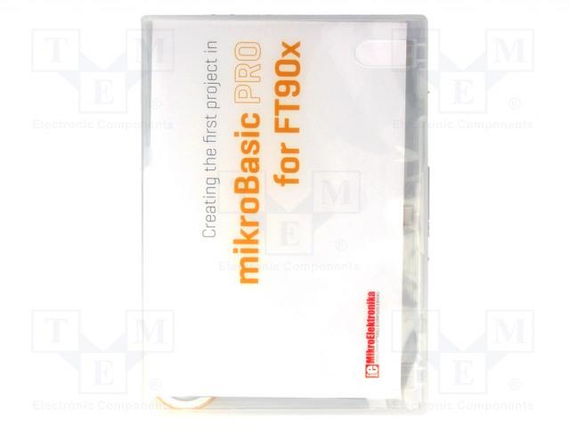 MIKROELEKTRONIKA MIKROBASIC PRO FOR FT90X - Kompilator