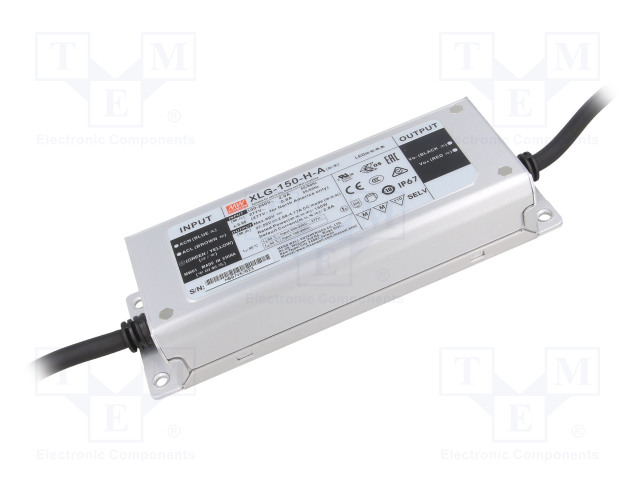 MEAN WELL XLG-150-H-A - Alimentatore: a impulsi