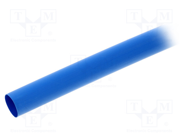 ALPHA WIRE FIT2211/2 BLUE 5X4 FT - Heat shrink sleeve