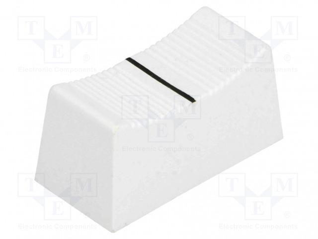 CLIFF CS1 TYPE A WHITE CP3280 - Nuppi: liukukappale