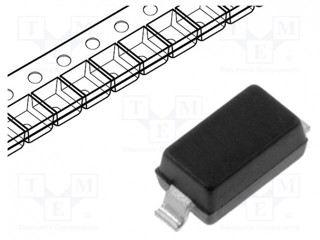 MICRO COMMERCIAL COMPONENTS 1N4148W-TP - Diode: commutation