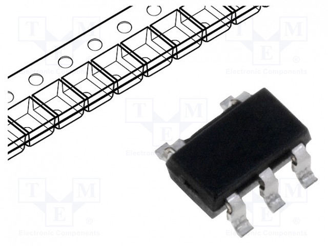MICROCHIP TECHNOLOGY 24AA01T-I/OT - EEPROM memory