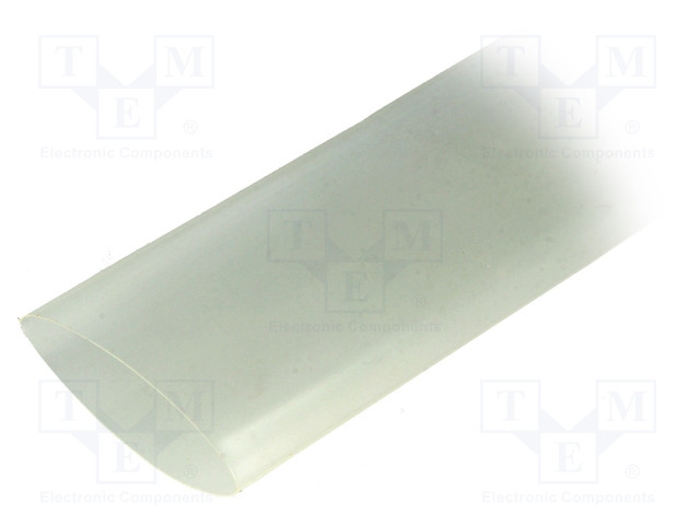 ALPHA WIRE FIT2212IN CLEAR 5X4 FT - Heat shrink sleeve