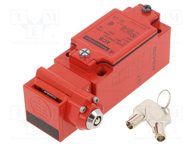 SCHNEIDER ELECTRIC XCSC702 - Bezpečnostní spínač: zámkový