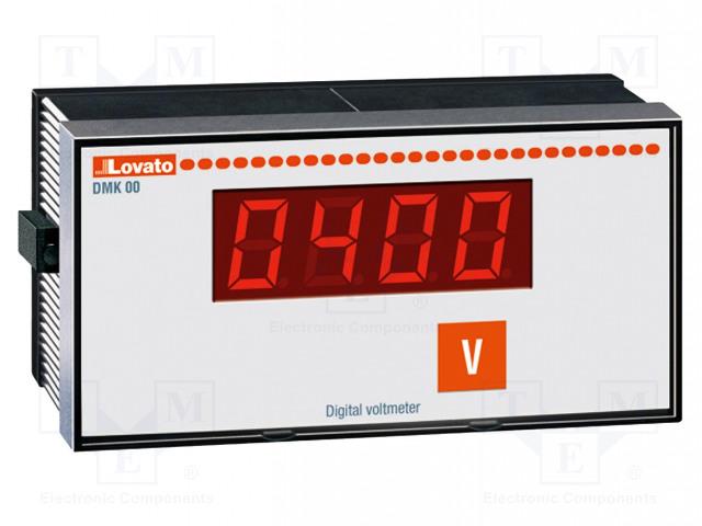LOVATO ELECTRIC DMK00R1 - Volttimittari