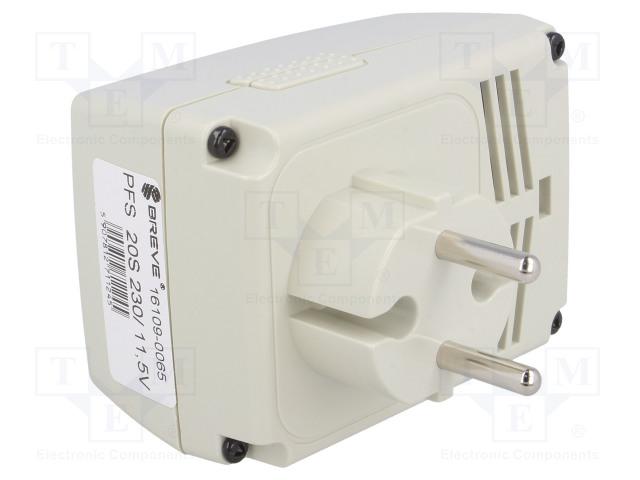BREVE TUFVASSONS PFS 20S 230/11.5V - Alimentatore: a trasformatore