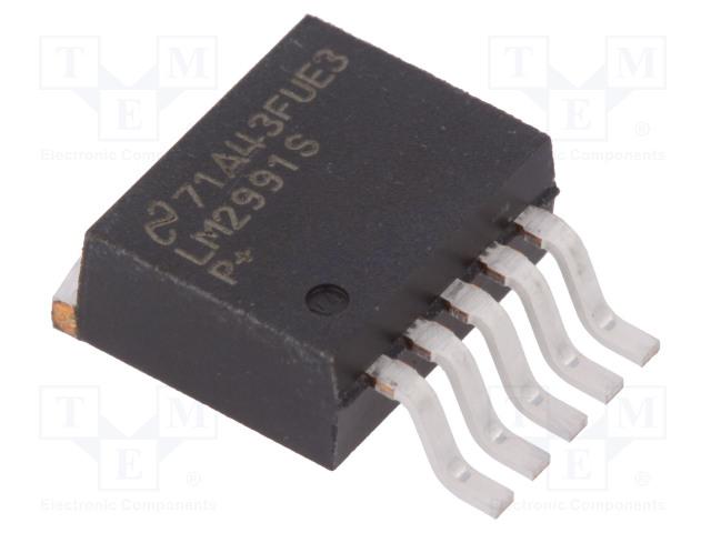 TEXAS INSTRUMENTS LM2991S/NOPB - IC: voltage regulator