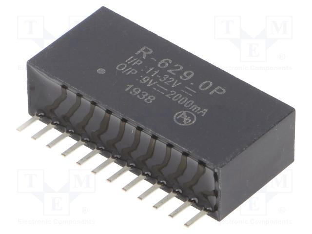 RECOM R-629.0P - Converter: DC/DC