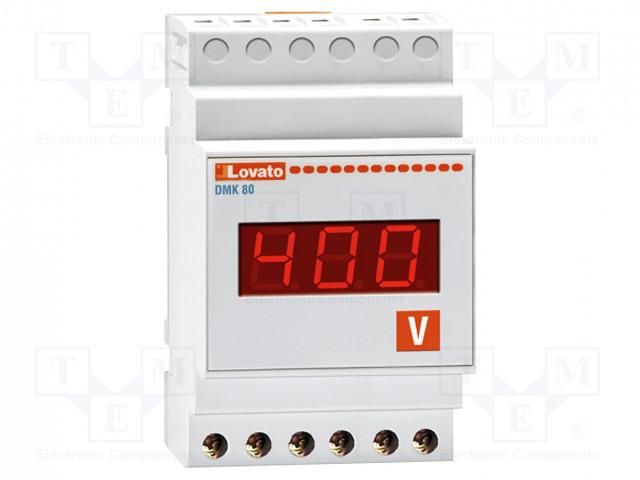 LOVATO ELECTRIC DMK80R1 - Volttimittari