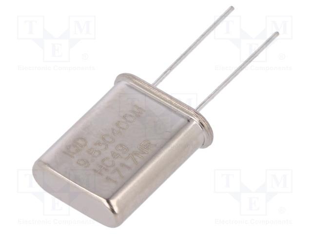 IQD FREQUENCY PRODUCTS LFXTAL003277BULK - Resonator: quartz