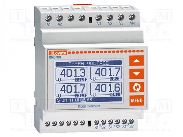 LOVATO ELECTRIC DMG 300 L01 - Verkkoparametrien mittari