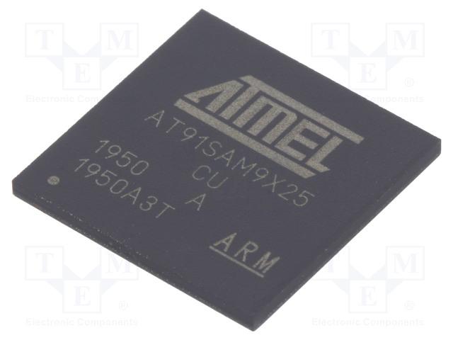 MICROCHIP TECHNOLOGY AT91SAM9X25-CU - Mikroprocesor ARM