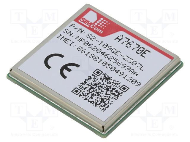 SIMCOM S2-109GE - Moduuli: LTE