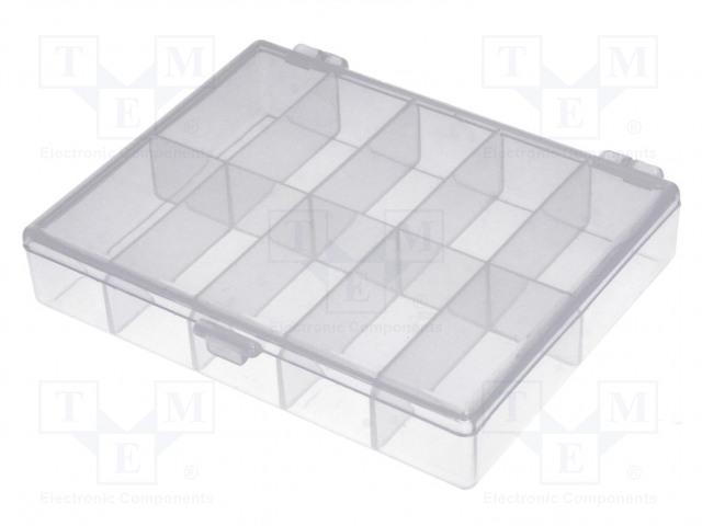 NEWBRAND NB-BOX10 - Säiliö: osastoihin varustettu laatikko