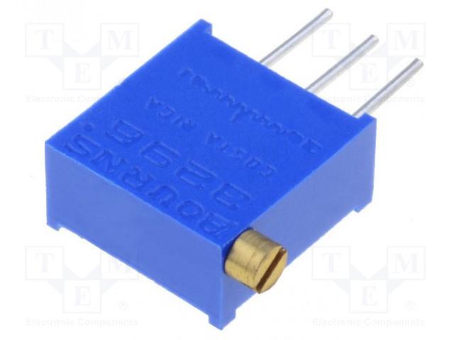 BOURNS 3296X-1-103LF - Potentiometer: mounting