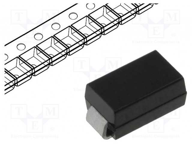 DIODES INCORPORATED B320A-13-F - Diode: Schottky rectifying